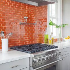Kitchen Backsplash Ideas Best Value Cabinets 35 Ways To Use Subway Tiles In The - Digsdigs