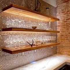Retro Kitchen Tile Backsplash Kate Spade 28 Creative Penny Tiles Ideas For Kitchens - Digsdigs