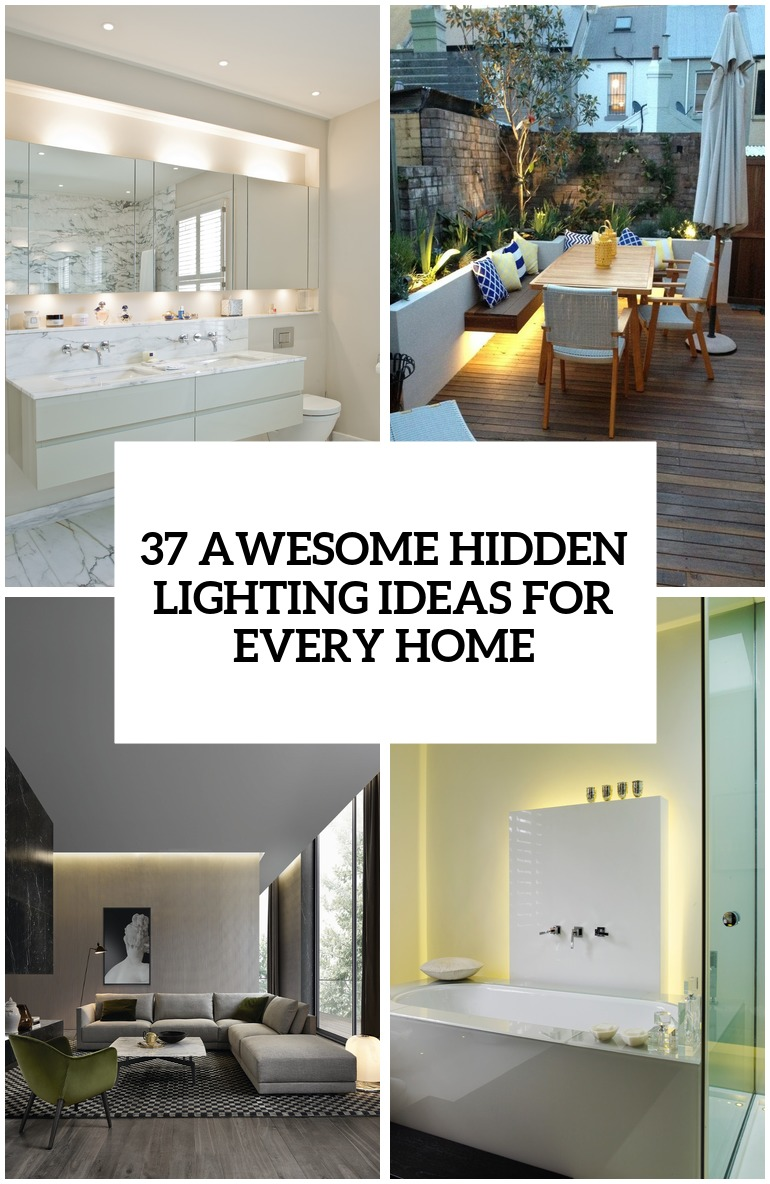 27 Awesome Hidden Lighting Ideas For Every Home  DigsDigs