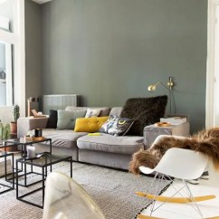 Lime Green Living Room Decorations Mixing Furniture Styles 30 And Grey Décor Ideas - Digsdigs