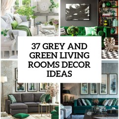 Living Room Design Pictures Remodel Decor And Ideas Small Sectional 30 Green Grey Digsdigs Cover