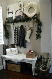 38 Cozy And Inviting Winter Entryway Dcor Ideas - DigsDigs