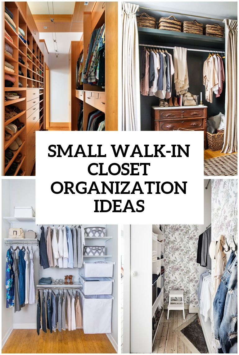 5 Small Walk In Closet Organization Tips And 40 Ideas Digsdigs