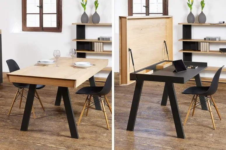 Convertible Celerina Table For Dining And Working  DigsDigs