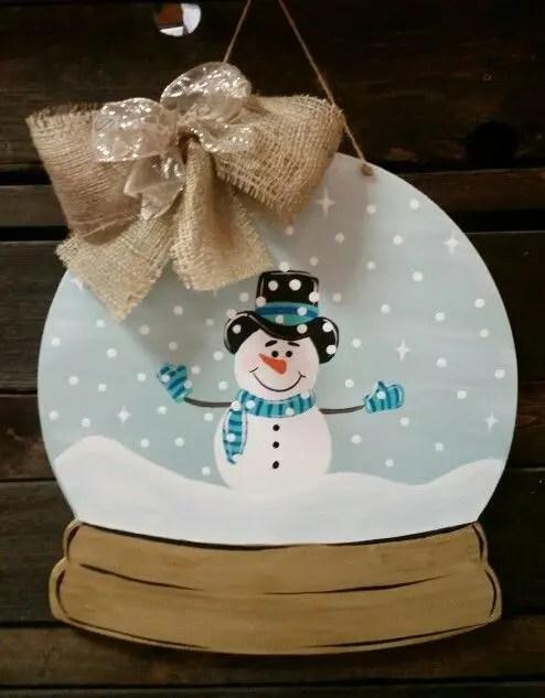 Snow Globe Door Decs Clroom Pinterest Posts Globes And