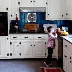 Slate Kitchen Backsplash Baby Pink Appliances 25 Beadboard Backsplashes To Add A Cozy Touch ...