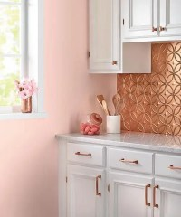 27 Trendy And Chic Copper Kitchen Backsplashes