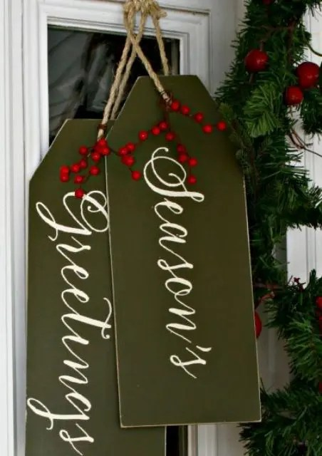 38 Reclaimed Wood Christmas Dcor Ideas  DigsDigs