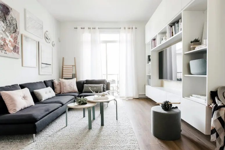 Scandinavian Home With Cozy Pastel Touches  DigsDigs