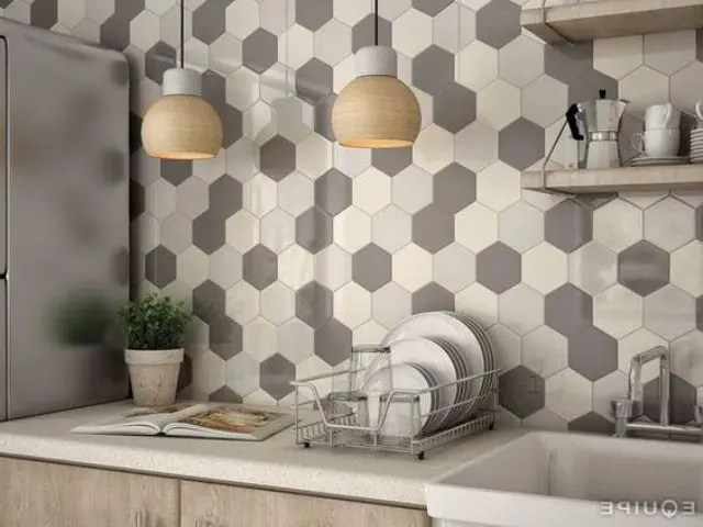 36 EyeCatchy Hexagon Tile Ideas For Kitchens  DigsDigs