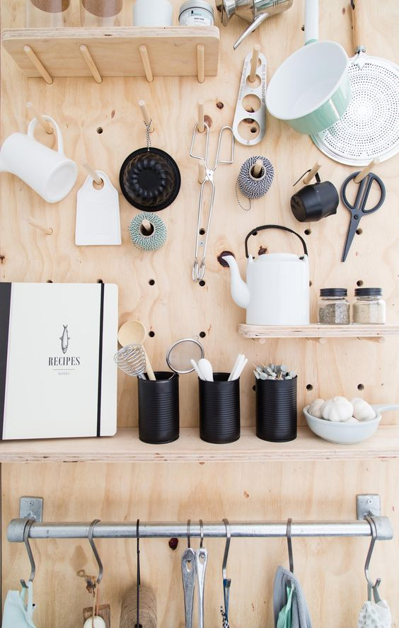 32 Smart And Practical Pegboard Ideas For Your Home  DigsDigs