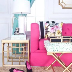 Unusual Chair Legs Over Sized Chairs 30 Pin-worthy Fuchsia Home Décor Ideas - Digsdigs
