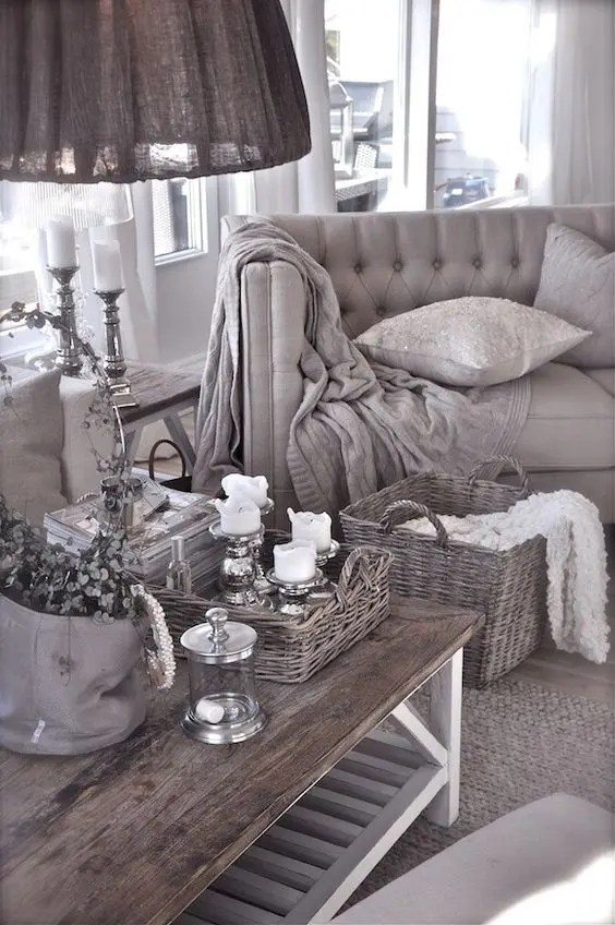 gray and taupe living room large wall stickers for 67 timeless color home decor ideas digsdigs french cottage style in tones of grey looks refined chic