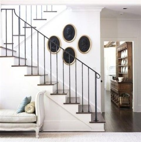 33 Wrought Iron Railing Ideas For Indoors And Outdoors Digsdigs | Contemporary Wrought Iron Railings | Victorian | Stainless Steel | Glass | Wood | Decorative