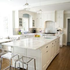 White Kitchen Countertops Designer Faucets 29 Quartz Ideas With Pros And Cons Digsdigs All Decor A Silver Backsplash Counters For Serene