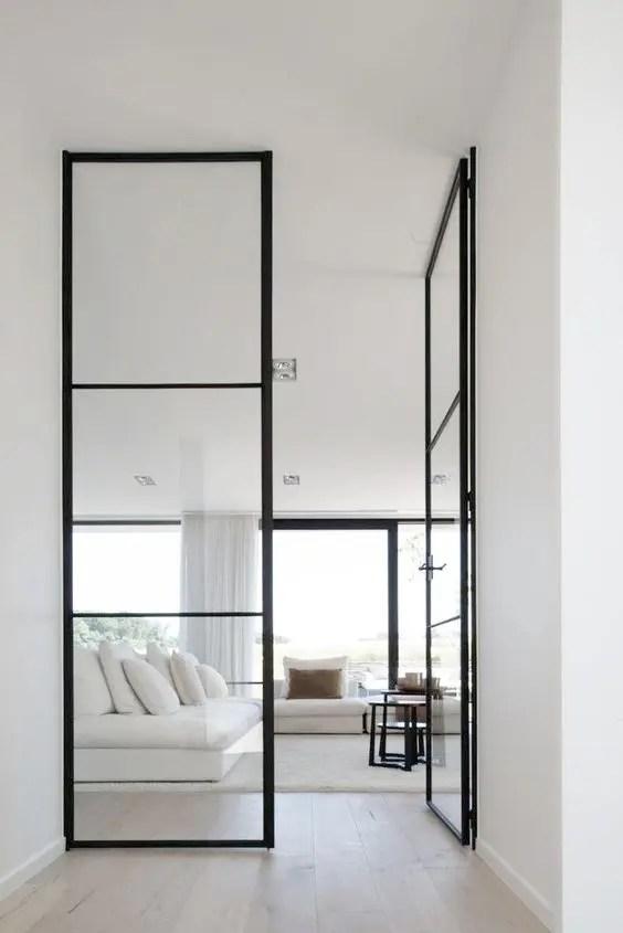 33 Stylish Interior Glass Doors Ideas To Rock