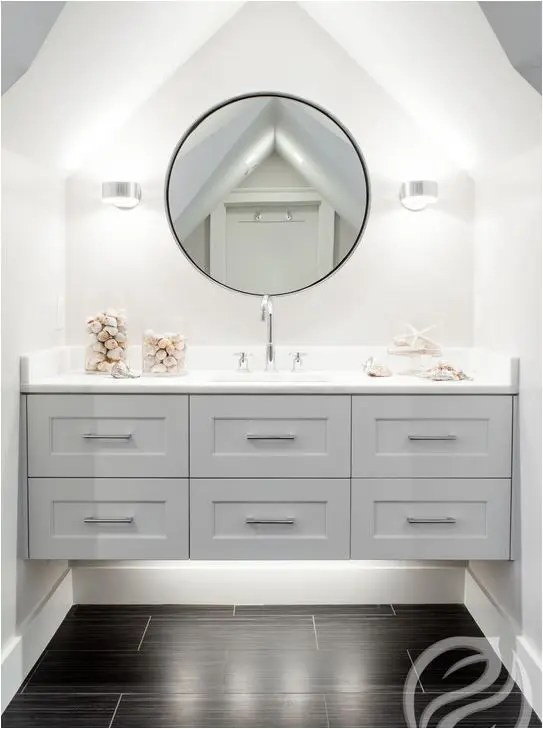60 inch kitchen sink base cabinet drop leaf tables 36 floating vanities for stylish modern bathrooms - digsdigs
