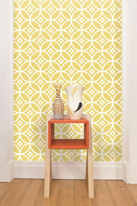 Decorating With Retro Wallpaper 32 EyeCatchy Ideas