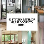 43 Stylish Interior Glass Doors Ideas To Rock Digsdigs