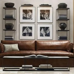 Living Room With Brown Leather Couch Ideas Furniture 30 Masculine To Rock Digsdigs A Gorgeous Sofa Just Screams Space There S Nothing Better
