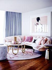32 Feminine Living Room Furniture Ideas That Inspire ...