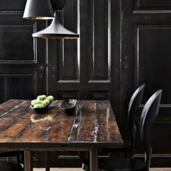 Noir Dining Chairs Costco Anti Gravity Chair 34 Masculine Space Furniture Ideas To Rock - Digsdigs