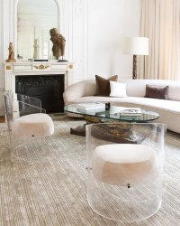 33 Lucite And Acrylic Furniture Ideas For Modern Spaces ...