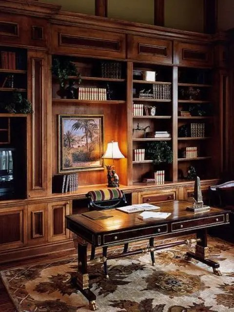 The editors of publications international, ltd. 33 Chic Masculine Home Office Furniture Ideas - DigsDigs
