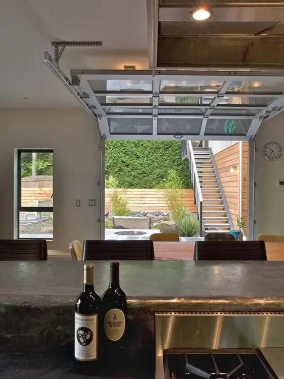 26 Glass Garage Door Ideas To Rock In Your Interiors