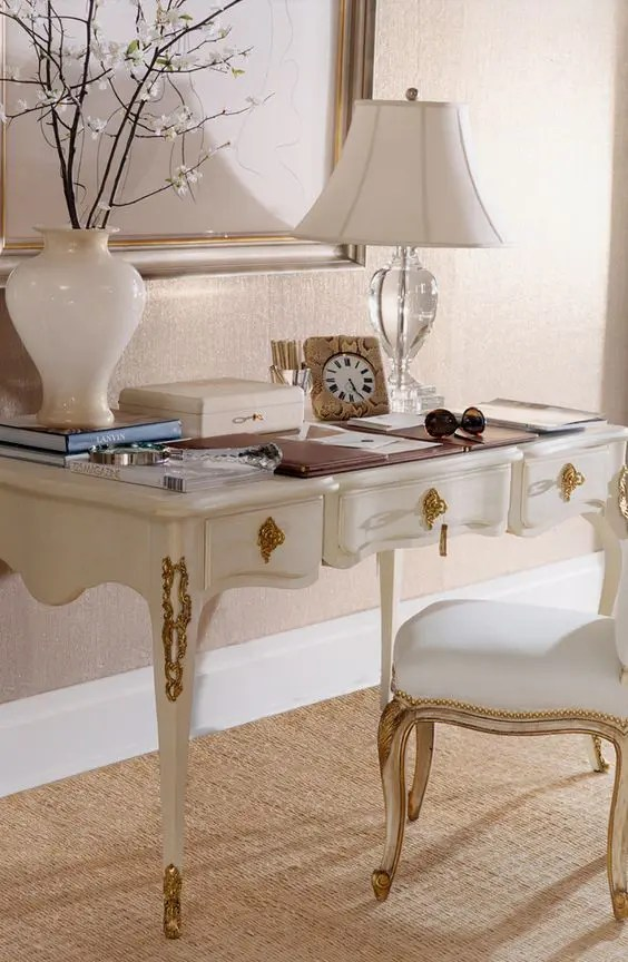 Gold Desk Chair