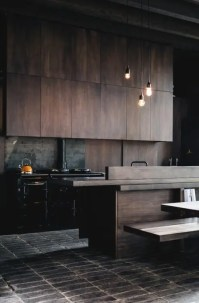 33 Masculine Kitchen Furniture Ideas That Catch An Eye ...