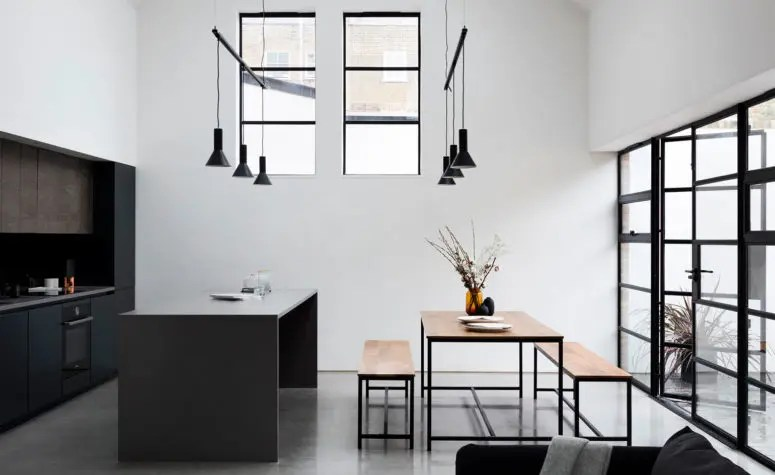 Minimalist Wallpaper Fall A Schoolhouse Turned Into A Minimalist And Industrial Home