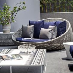 White Resin Wicker Sofa Consumer Reports Bed Mattress 31 Stylish Modern Outdoor Furniture Ideas - Digsdigs
