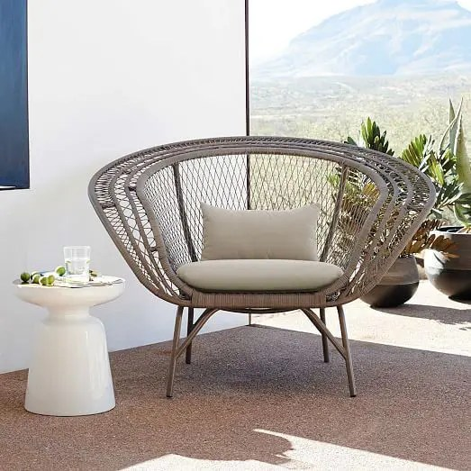 black metal outdoor chairs swivel chair mechanism suppliers 31 stylish modern furniture ideas - digsdigs
