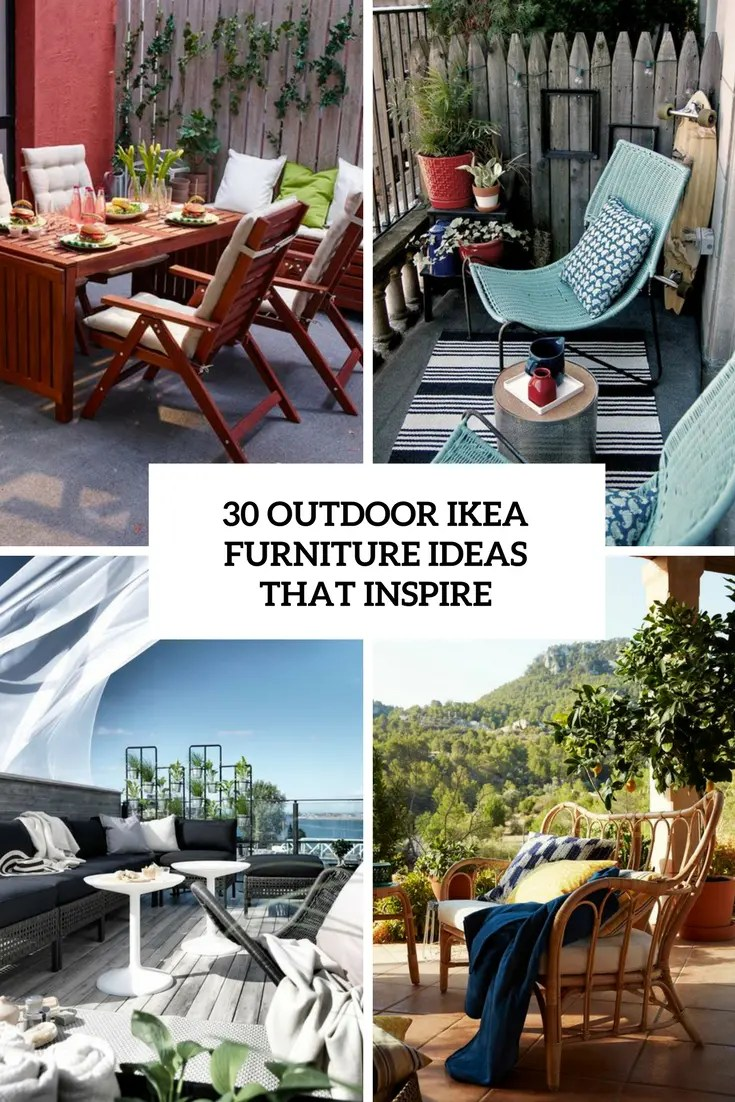 30 outdoor ikea furniture ideas that