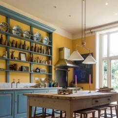 Kitchen Cupboards Ideas Framed Art Vintage English Country In Bold Colors - Digsdigs