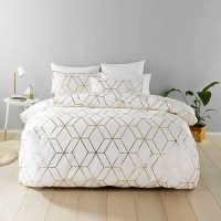 30 Timeless Geometric And Graphic Bedding Ideas - DigsDigs