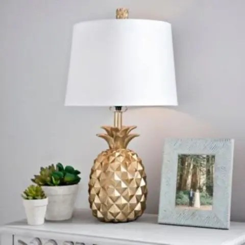 cute curtains for living room tall end tables 35 pineapple home décor ideas to add a tropical cheer ...
