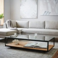 29 Chic Glass Coffee Tables That Catch An Eye - DigsDigs