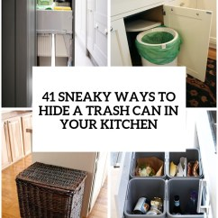 Kitchen Trash Grape Decor For 29 Sneaky Ways To Hide A Can In Your Digsdigs Cover