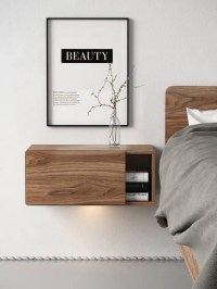 29 Coolest Floating Nightstands And Bedside Tables - DigsDigs