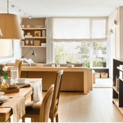 Living Room Office Interior Design Styles Modern Cozy Neutral Dining With A Home Digsdigs This Space Shows How To Pull Off Three Different Zones In One