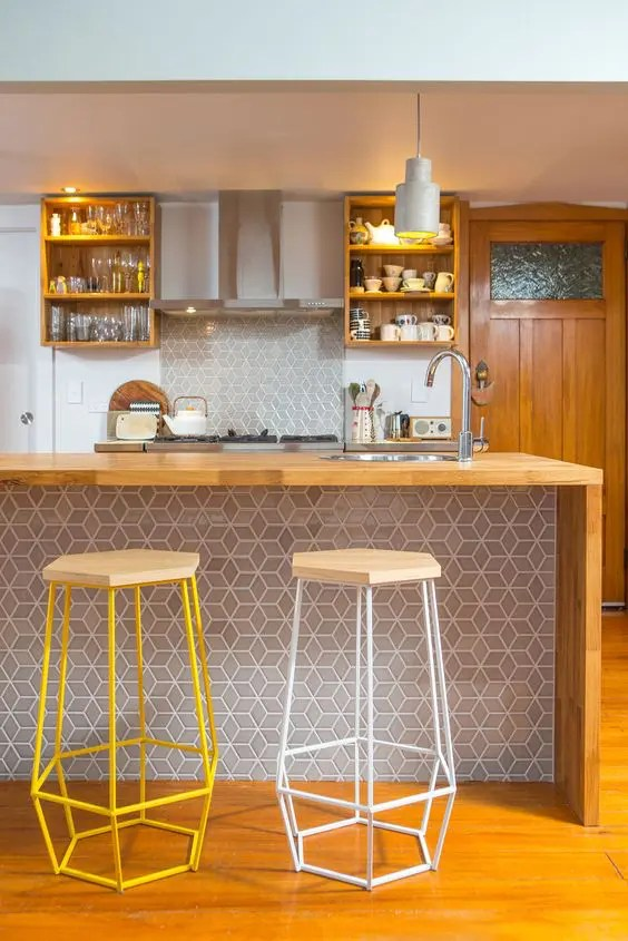 25 stylish kitchen bar counters for