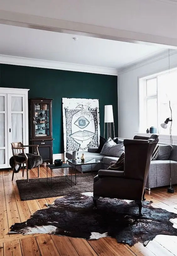 red teal yellow living room cheap small ideas 30 to add color your interior in a stylish way ...