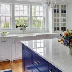 Colorful Kitchen Appliances Wooden Bench For Table 30 Gorgeous Blue Decor Ideas - Digsdigs