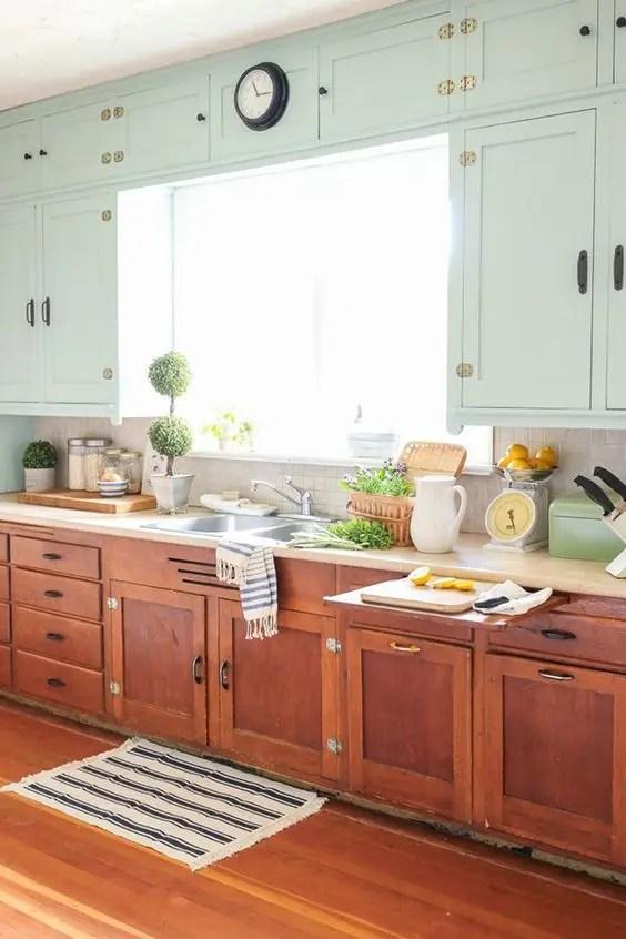 kitchen shelf decor single handle pulldown faucet 27 cheerful orange ideas - digsdigs