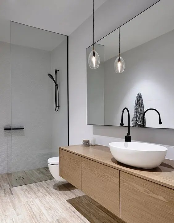 30 Chic And Inviting Modern Bathroom Decor Ideas  DigsDigs