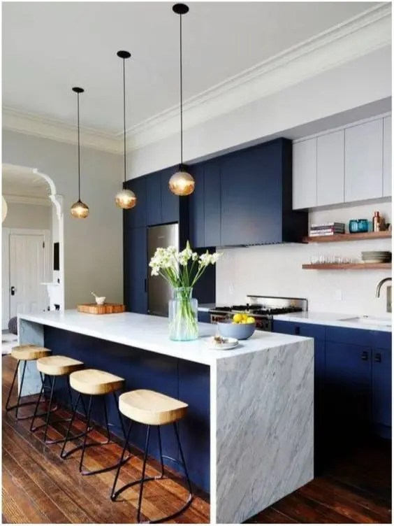 27 Trendy TwoToned Kitchen Designs Youll Like  DigsDigs