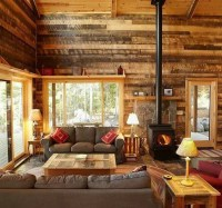 25 Inviting Living Rooms With Wood Walls - essentialsinside