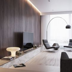 Wood Wall Living Room Interior Decorations For 25 Inviting Rooms With Walls Digsdigs A Chic Modern Space Light Colored Wooden Floors And Stained